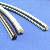 plastic seal strip for glass window