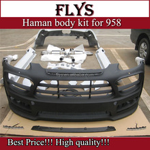 Factory price! hamn wide body kit for cayenn 958 Export carbon fiber material!