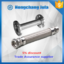 T304 Double Braid Annular Corrugated Configurable Flexible Metal Hose Assembly