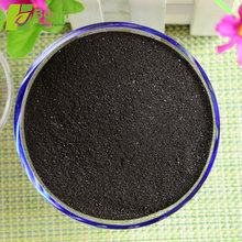 Natural fine mineral source water soluble organic fertilizer humus soil