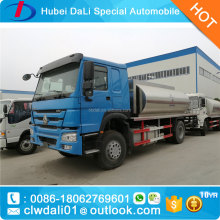 10tons HOWO 266hp liquid asphalt transporting vehicle bitumen sprayer truck