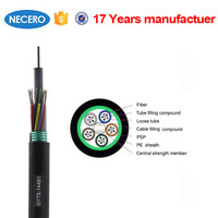Outdoor 1 core to12 core amored fiber optical cable