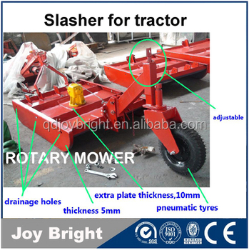 Bush hog Rotary slasher Lawn mower for tractor