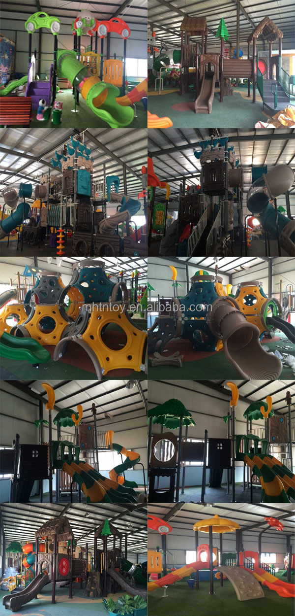 colour and big kids outdoor playground for hot sale
