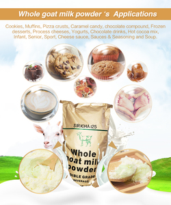 Raw cheap Halal Pure skimmed baking Goat Milk Powder in 25kg bags