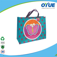 Best selling promotion Eco-friendly navy blue non woven bag