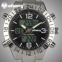 Infantry New Wholesale Auto Date Chronograph 3ATM Watch