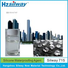 Silway 715 Potassium methyl silicate 52% penetrating waterproofing sealer for concrete Best price high quality