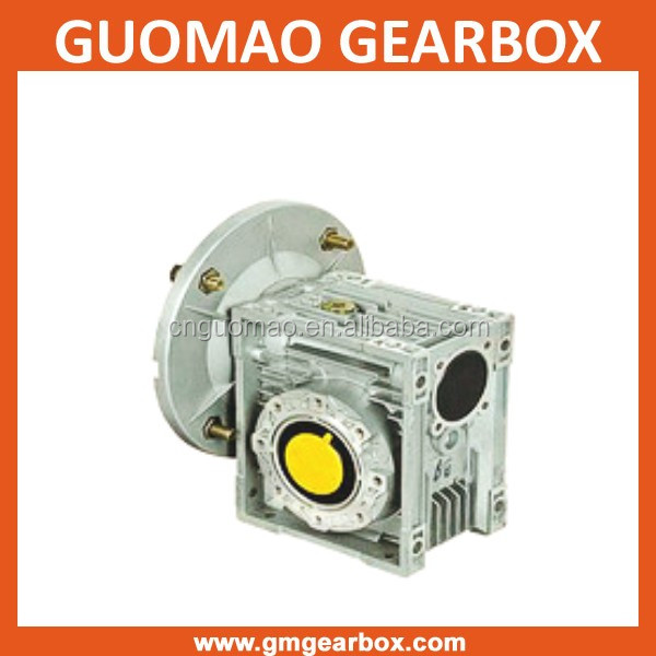 NMRV 90 degree angle gearbox with flange