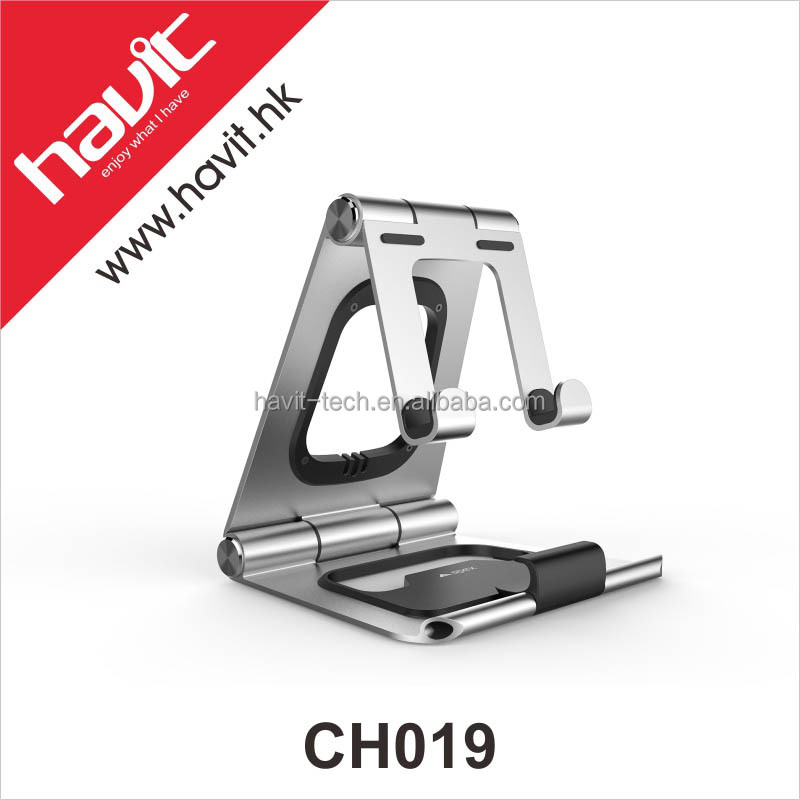 Havit New Arrival Folding Cell Phone Holder, Adjustable Mobile Tablet Stand Holder Light and Compact