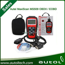 2015 Hot Selling Autel MaxiScan MS509 OBDII / EOBD Auto Code Reader Fit For US&Asian & European Vehicles MS 509 Fast shipping