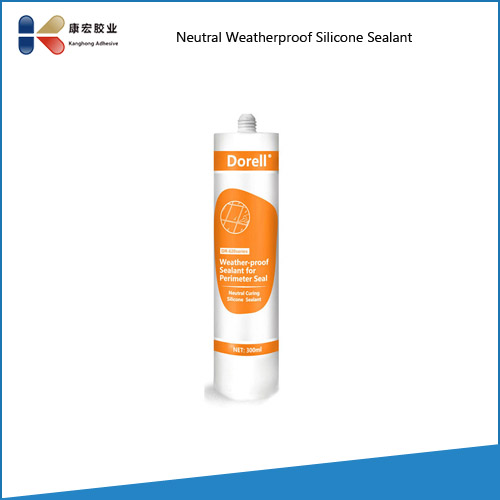 Aluminum Window Frame Silicone Sealant for Glazing