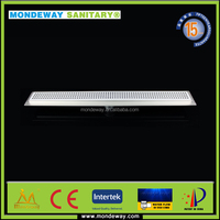 Plastic high flow easy drain Side outlet shower drain.