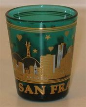 Popular San Francisco souvenir Shot Glass
