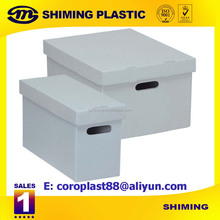 plastic partition box made of plastic corrugated sheet