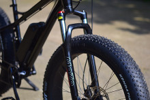 Electric fat bike with Tektro hydraulic brake, big power ebike