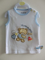 Baby Product 100% Cotton Soft Infant Baby Vest