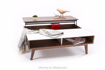 Modern lift top coffee table View lift top coffee table CFHOMEY