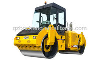 XCMG double drum road roller soil compactor XD122