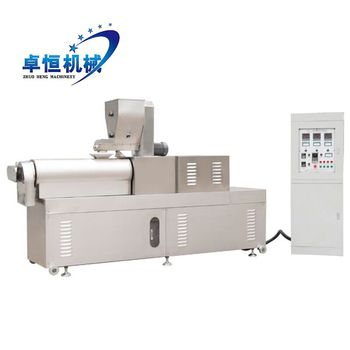 Different shapes puppies pet food extruder machine