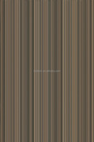 fancy engineered black zebra wood veneer for furniture/plywood