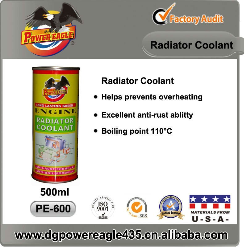 Engine and Radiator Coolant 500ml POWER EAGLE
