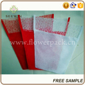supplier of flower sleeves of non woven customized sleeve