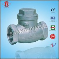 stainless steel thread check valve