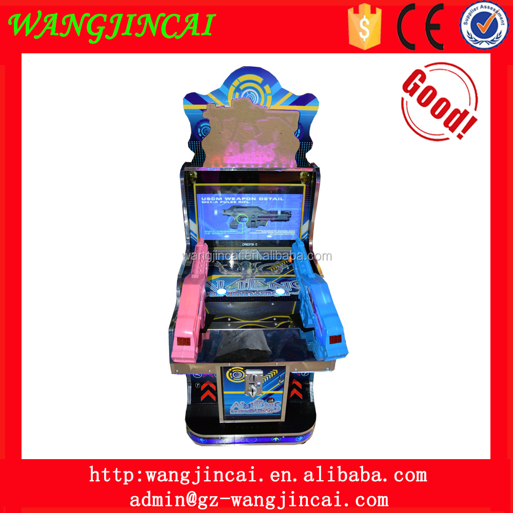coin operated gun shooting electronic sports game machine aliens extermination shooting video arcade machines for sale