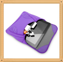 Purple Laptop Neoprene Case/Neoprene tablet pc case for Girls