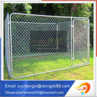 hot sale chain link box galvanized dog pens for outside