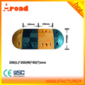 Alibaba gold supplier rubber car speed breaker on sale