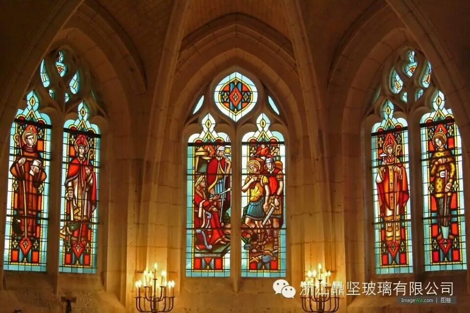 stained glass for windows cellings and interior decoration