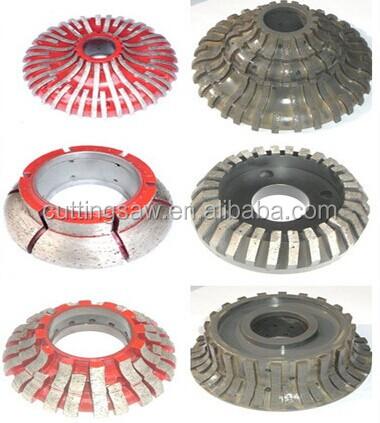 Resin Cnc Profiling Wheel Pos 1 7 stone Edge Profile