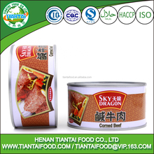 Wholesale Promotional Tinned Food Snack Meat Corned Beef For Sale