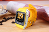 Small size touch screen china smart watch phone hot wholesale can with walking mode