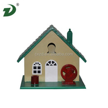2015 Fashion colorful bird houses wooden dog house
