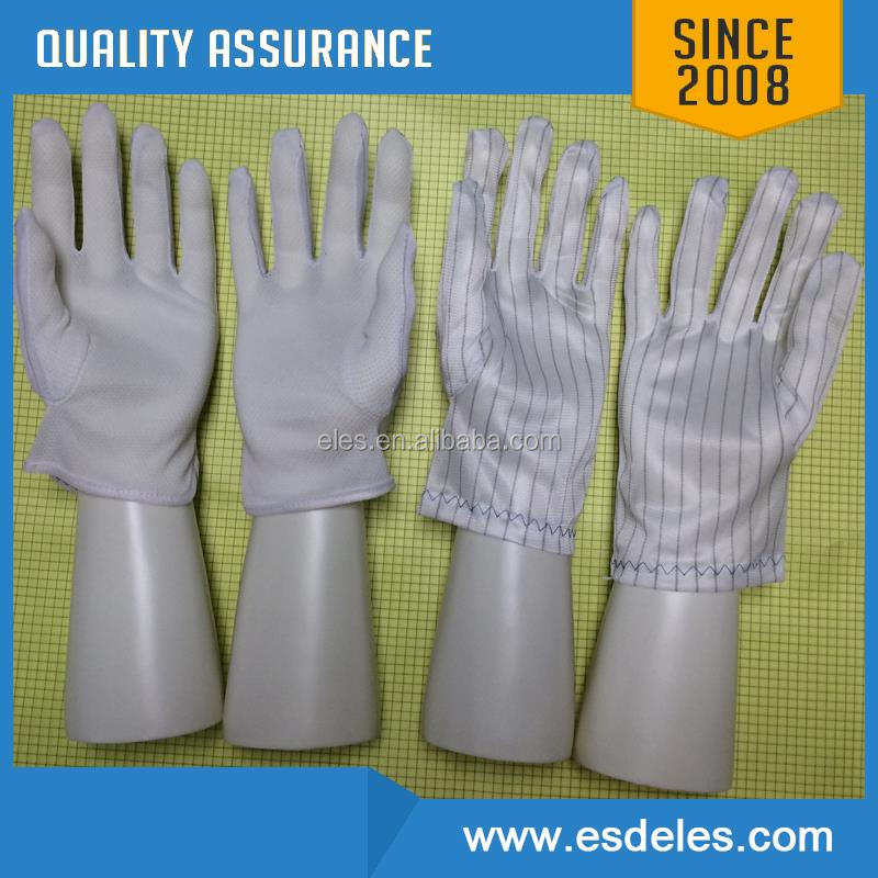 antistatic glove fabric conductive yarn