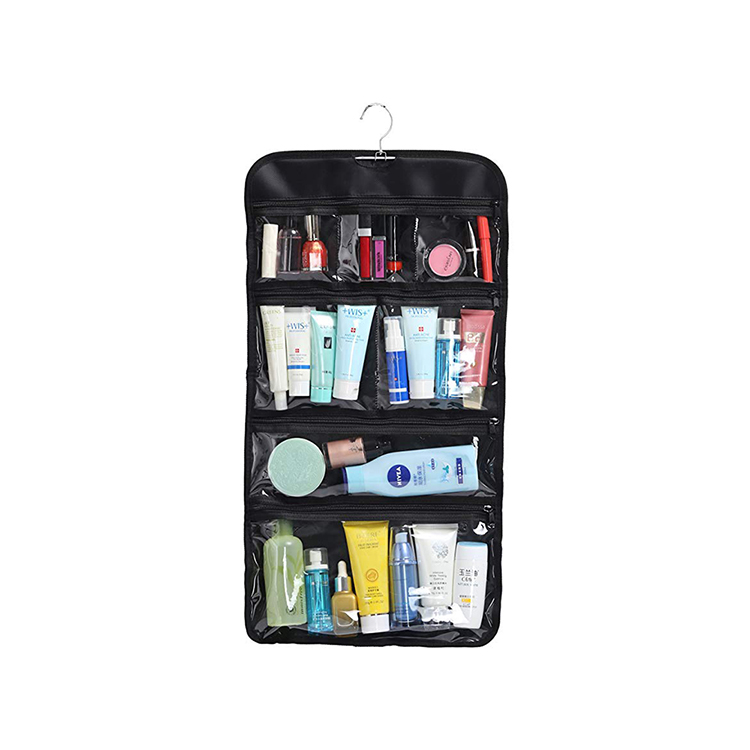 Factory direct sale custom pvc hanging toiletry bag <strong>travel</strong>