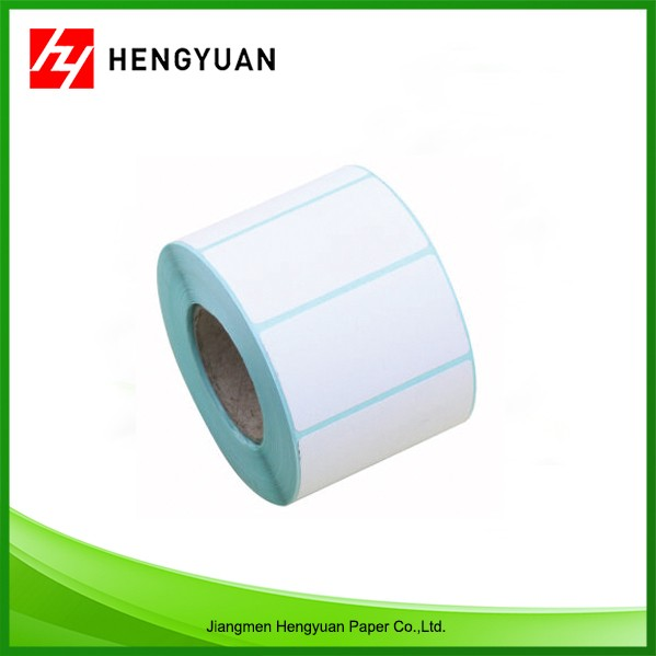 Custom blank thermal label thermal sticker roll