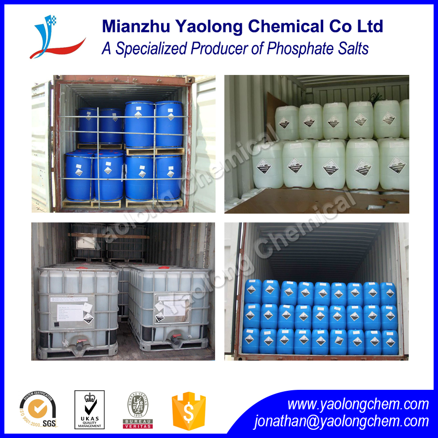 Phosphoric Acid 85% for Food & Pharmaceutical CAS 7664-38-2