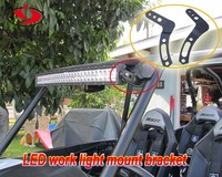 "30"" INCHES LED LIGHT BAR STRAIGHT WITH POLARIS BRACKET OFFROAD ATV SUV"