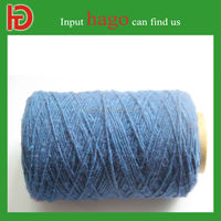 China manufacturer oe recycled cotton blanket yarn for knitting weaving yarn