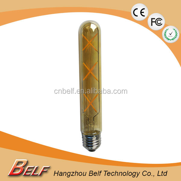 Popular led t shaped bulb dimmable e27 185mm 215mm 300mm available