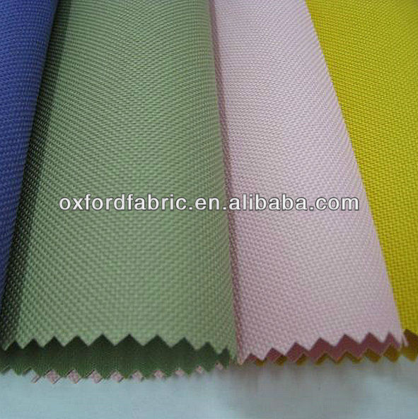 300D PU coating oxford fabric for bags&tents 100%polyester from suzhou
