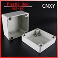 High quality small gray lid electrical waterproof enclosure 120*120*90mm