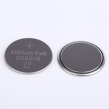 High quality 3V lithium button cell battery CR2016