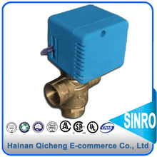 Easy Operation SR2010 Series motorized zone HAVC 3-way valves