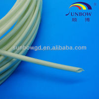 SUNBOW oil resistant transformer insulation silicone fiberglass tubings