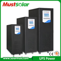 Must Solar power system 1K/2K/3K/5K/6K/8K/10K/15K/20KVA low frequency Online UPS